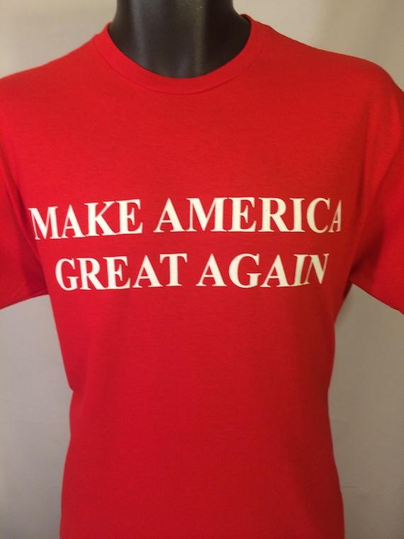 6162ab4d4a5 Make America Great Again Shirt Red Donald Trump