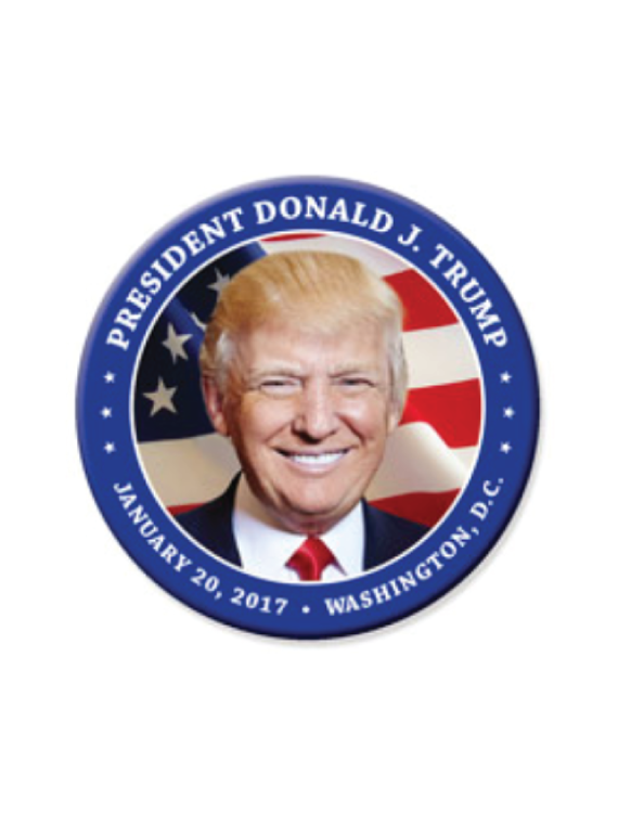Donald trump u s flag button blue 3 trump train depot